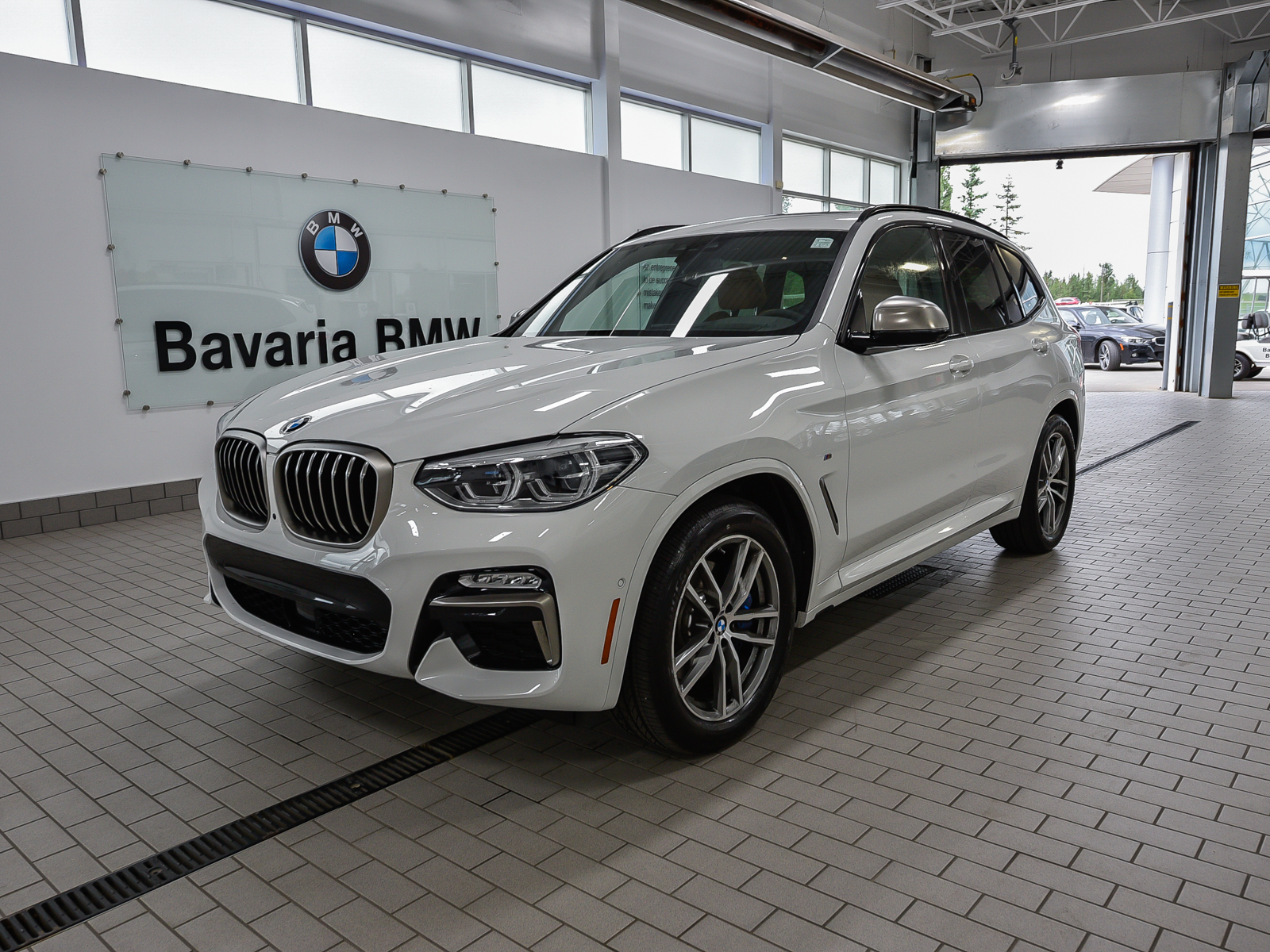 new 2018 bmw x3 m40i crossover in edmonton 18x36201. Black Bedroom Furniture Sets. Home Design Ideas