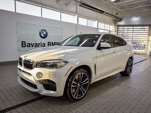 new 2018 bmw x6 m suv in edmonton 18x62549 bavaria bmw. Black Bedroom Furniture Sets. Home Design Ideas