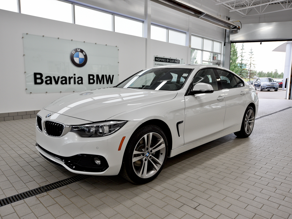 New 2018 BMW 430i xDrive Gran Coupe Coupe in Edmonton ...