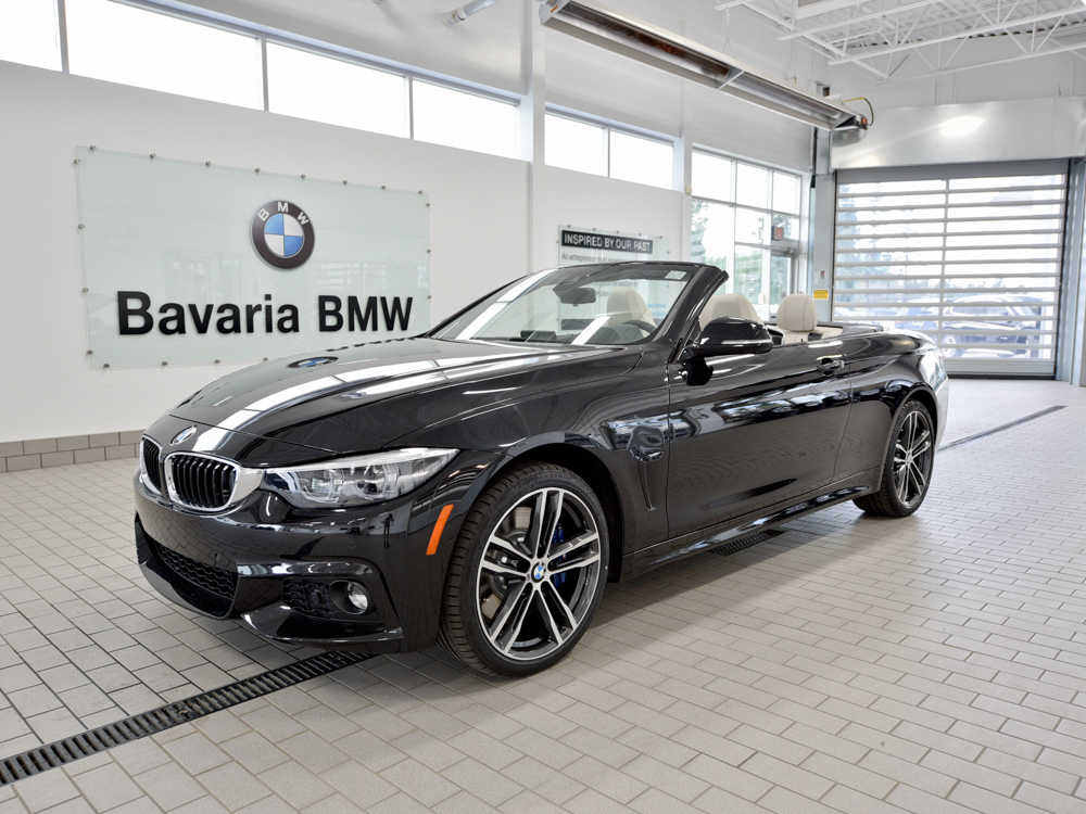 new 2018 bmw 440i xdrive cabriolet convertible in edmonton. Black Bedroom Furniture Sets. Home Design Ideas