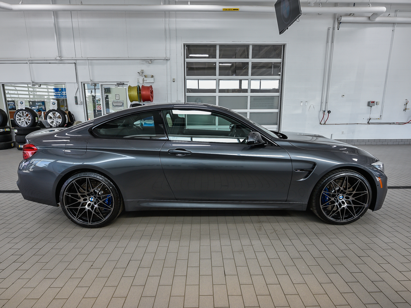 New 2018 BMW M4 Coupe Coupe in Edmonton 18M