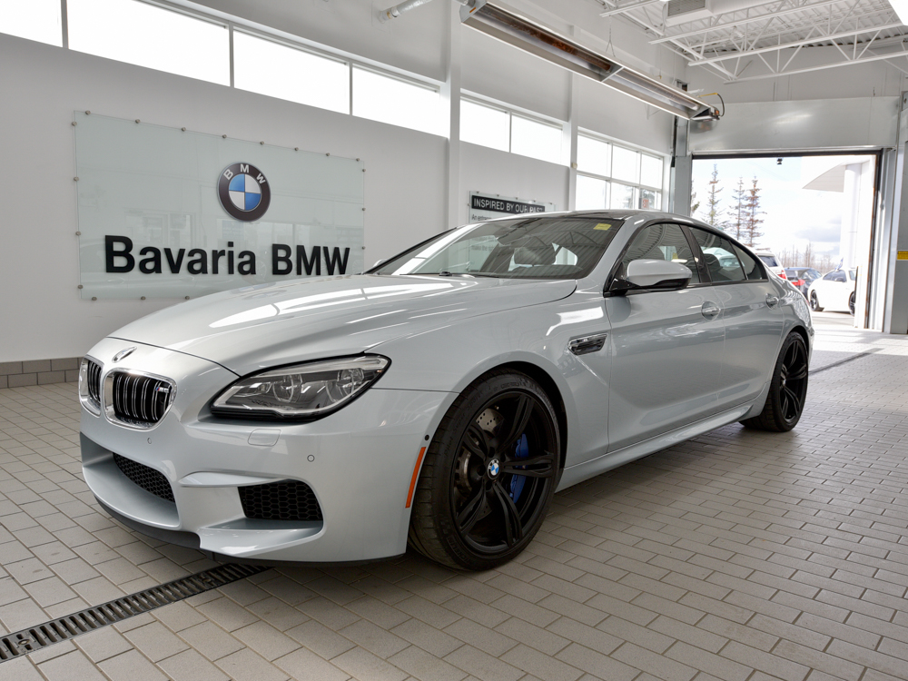 pre owned 2016 bmw m6 gran coupe coupe in edmonton. Black Bedroom Furniture Sets. Home Design Ideas