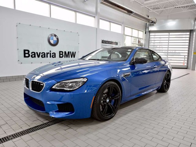 New 2018 BMW M6 Coupe Coupe in Edmonton #18M64867 ...