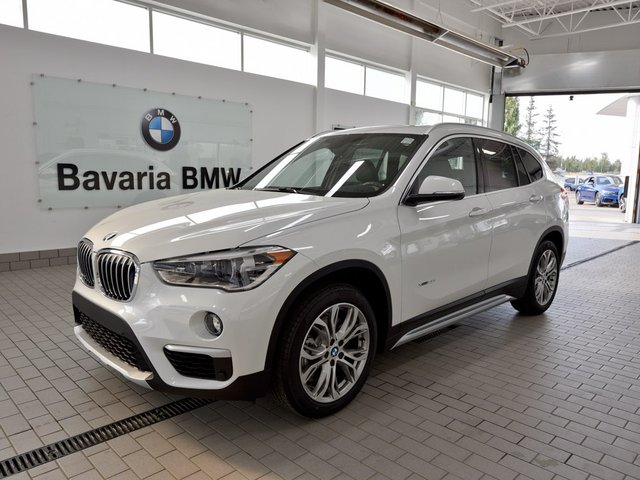 new 2018 bmw x1 xdrive28i crossover in edmonton 18x18466 bavaria bmw. Black Bedroom Furniture Sets. Home Design Ideas